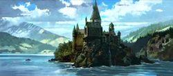 Hogwarts castle (Concept Artwork) 07