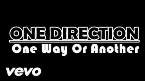 One Way or Another - One Direction (Lyric Video)