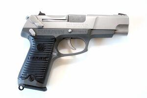 Vogel's Ruger pistol