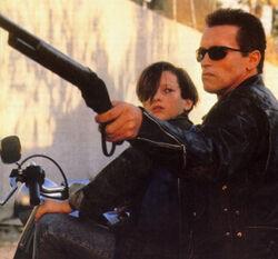 Terminator and John