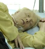 Jigsaw on his death bed