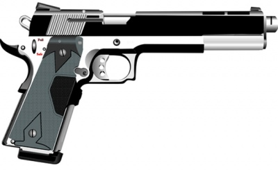 Colt-like machine pistol