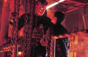 Terminator and John 3