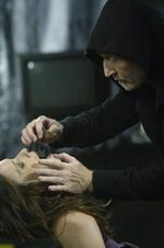 Jigsaw setting up Amanda's trap