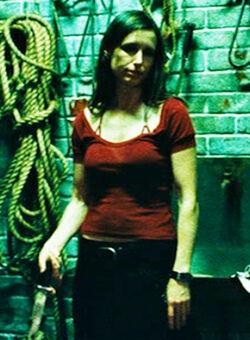 Amanda red and black