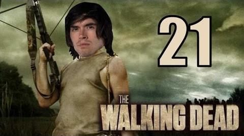 ME CONVERTIRE EN ZOMBIE? D: - The Walking Dead - Parte 21