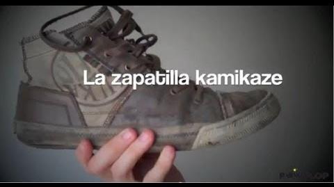 La Zapatilla Kamikaze!