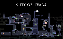 City of Tears Map