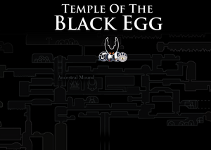 Temple of The Black Egg Map