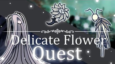 Delicate Flower Quest Hollow Knight