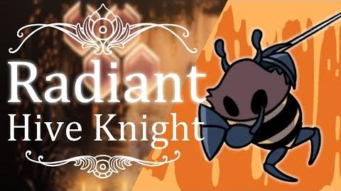 Hive Knight Radiant (Hitless) Hollow Knight