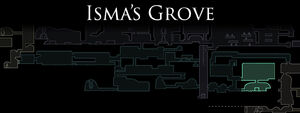 Ismas Grove Map