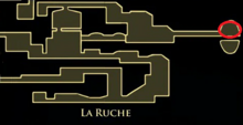 Chevalier de la Ruche (Localisation)