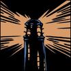 The Lantern on the Black Shore