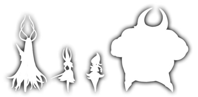 Five Great Knights Silhouettes