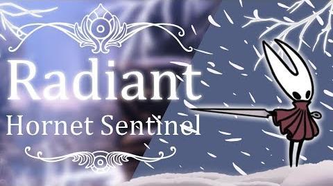 Hornet Sentinel Radiant (Hitless) Hollow Knight