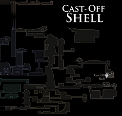 Cast-Off Shell Map
