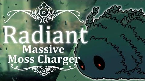 Massive Moss Charger Radiant (Hitless) Hollow Knight