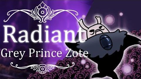 Grey Prince Zote Radiant (Hitless) Hollow Knight