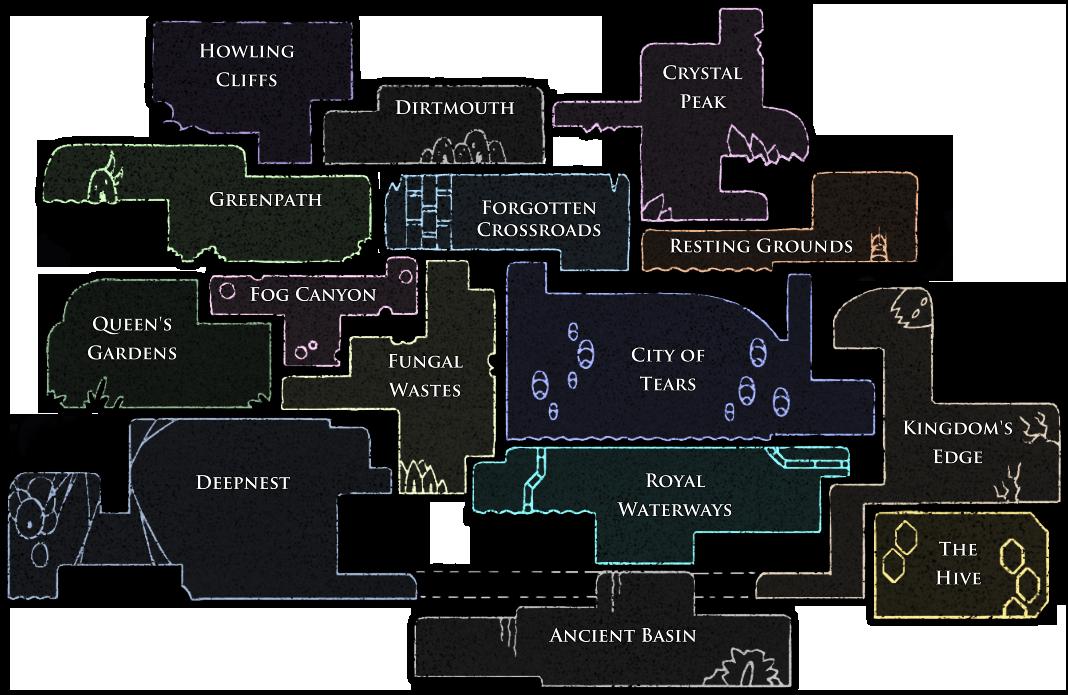 Areas of Hallownest | Hollow Knight Wiki | FANDOM powered by Wikia