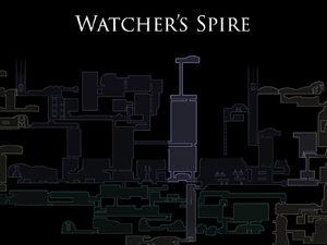 Watchers Spire Map
