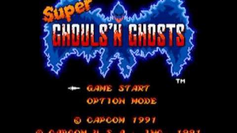 Super Ghouls 'N Ghosts (SNES) Music - Stage 04-0