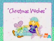 Holly Hobbie & Friends - Christmas Wishes Title Card