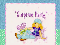 Holly Hobbie & Friends - Surprise Party Title Card