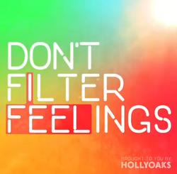 Don't Filter Feelings logo