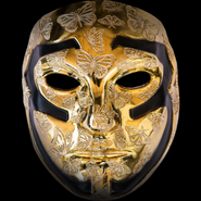 Johnny 3 Tears V mask gold
