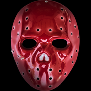 Funny Man V mask red