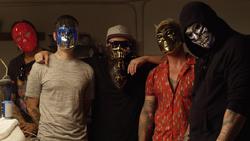 V masks mixed