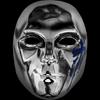 Danny V mask blue