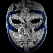 Johnny 3 Tears V mask blue