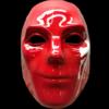 Danny V mask red