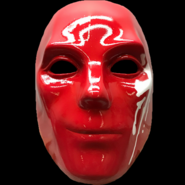 Danny V mask red