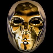 Danny V mask gold