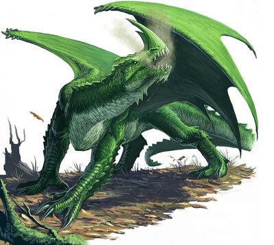 Green Dragon by BenWootten
