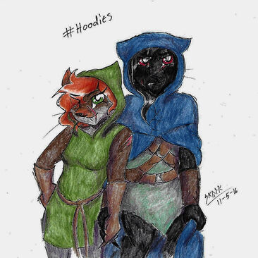 Ivy and Shadow 'Hoodies'