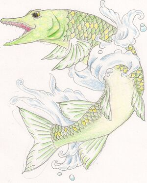 Pike tattoo by xsiimeenx