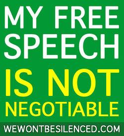 My-free-speech
