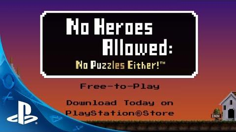 No Heroes Allowed No Puzzles Either! Launch Trailer