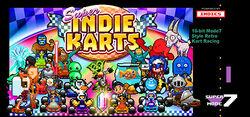 Super Indie Karts Cover