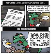 Lord'O Saurus Comic