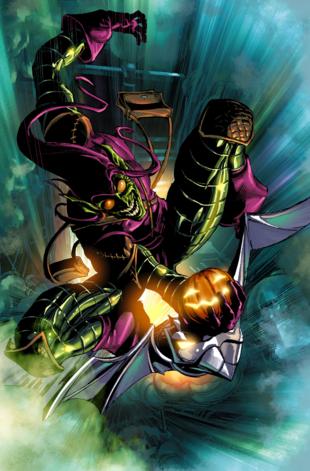 Norman Osborn duende verde