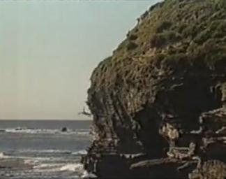 H&a gary falls off cliff