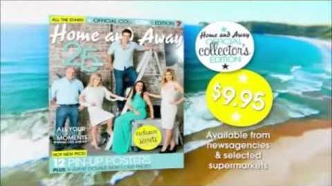 Home and Away Official Collector's Edition Advertisement