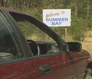 H&a summer bay sign 1989