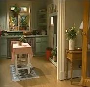 H&a summer bay house lounge kitchen