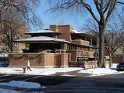 Robie House, Hyde Park, Chicago